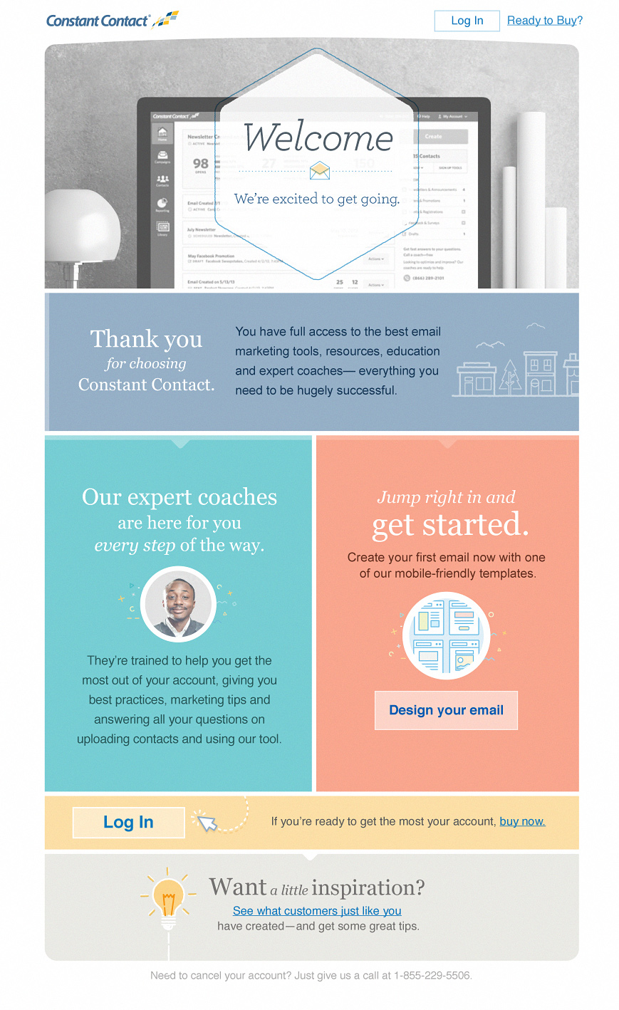 Email 1 onboarding series