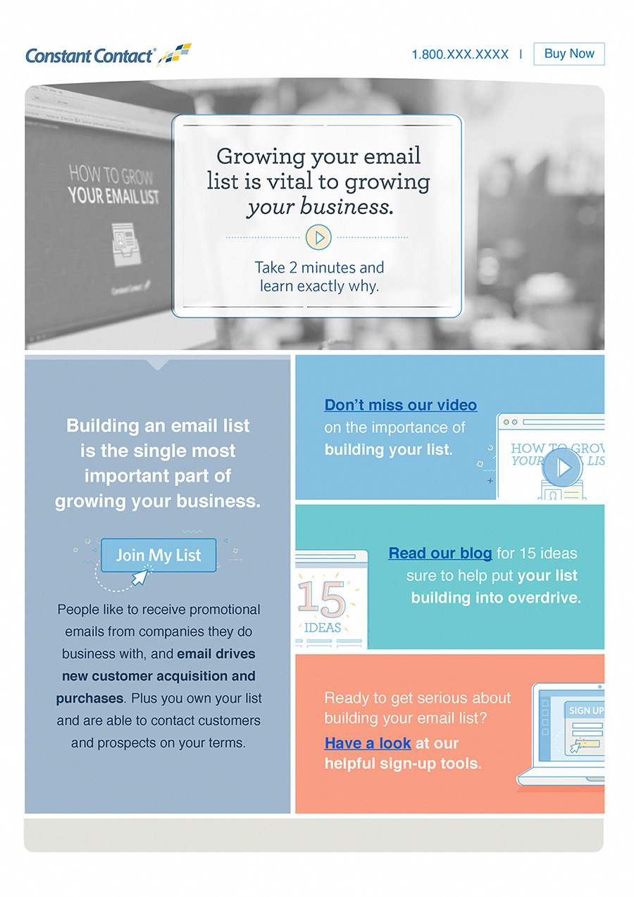 Email onboarding design