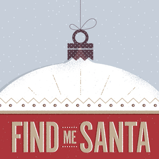 Find Me Santa Landing Page Animation