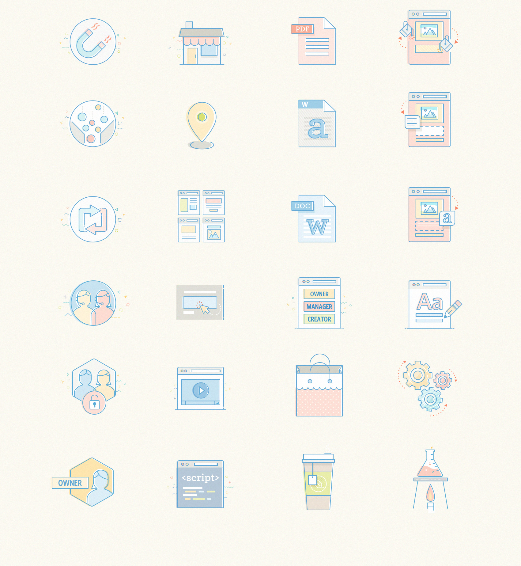 Iconography Development