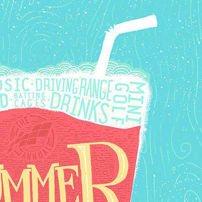 Summer Poster silk screen